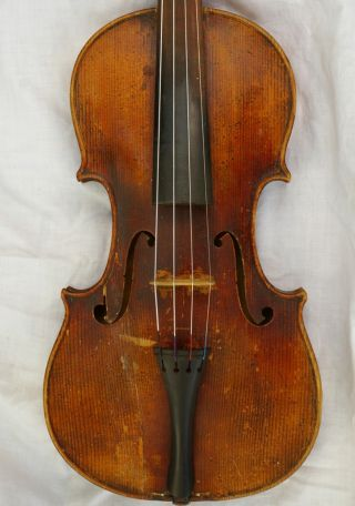 Antique Violin About 100 - 150 Years Old photo