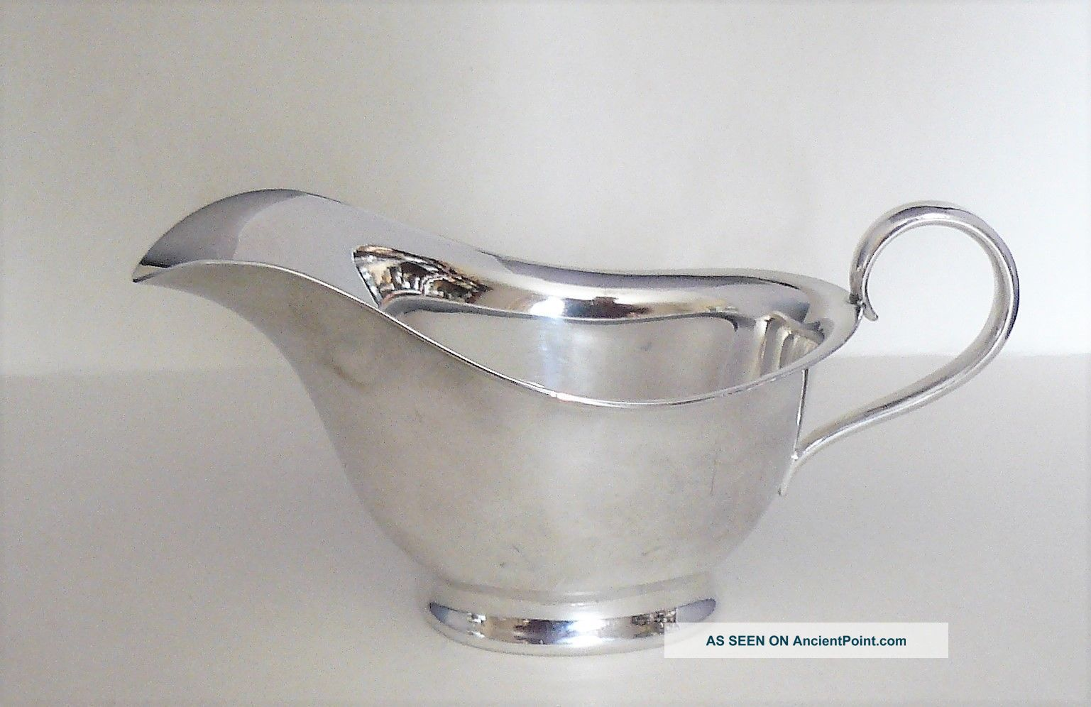 Vintage Atkins Brothers - Silver Plated - Small Sauce Boat - Model 5305 - Vgc Sauce Boats photo