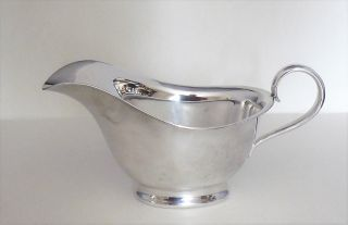 Vintage Atkins Brothers - Silver Plated - Small Sauce Boat - Model 5305 - Vgc photo