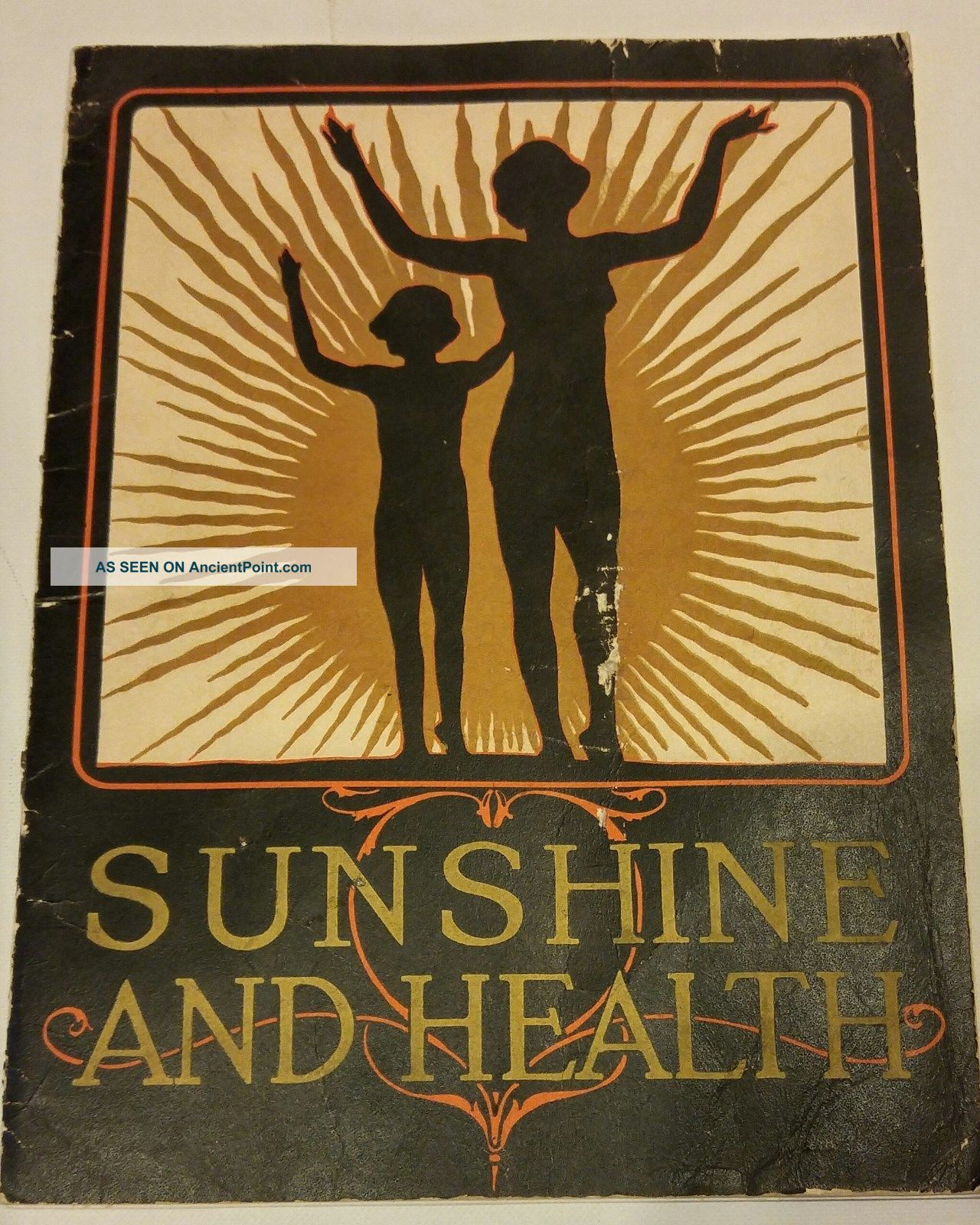 Quack Medicine Brochure Sunshine And Health,  Sunarc Bath Kellogg,  Battle Creek Mi Other Antique Science, Medical photo