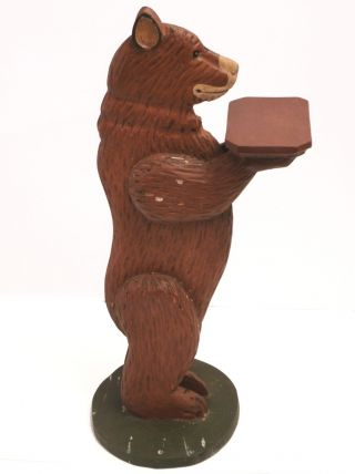Carved Wooden Bear 32