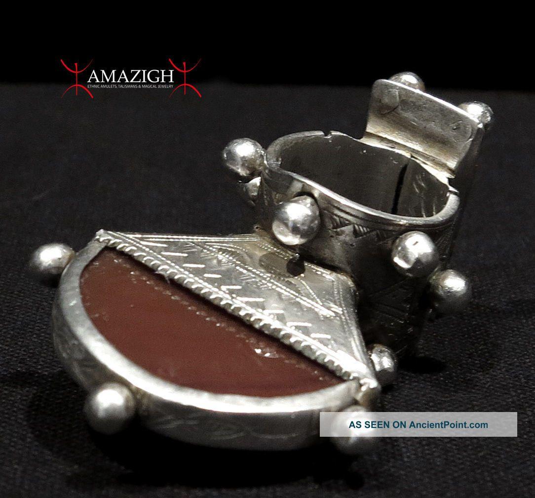 Massive Tuareg Cerimonial Ring - Tisek - Mali - Outstanding Piece Jewelry photo