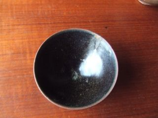 China.  Sung Dynasty.  12th/13th Century.  Black Glazed Pottery Tea Bowl, photo