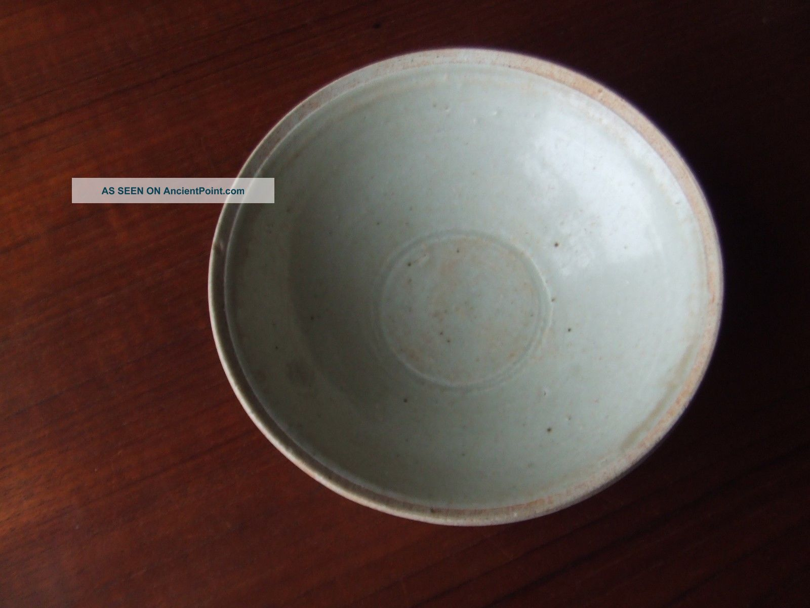 China.  Sung Dynasty.  12th/13th Century Blueish Glazed Pottery Bowl Chinese photo