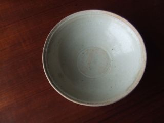 China.  Sung Dynasty.  12th/13th Century Blueish Glazed Pottery Bowl photo