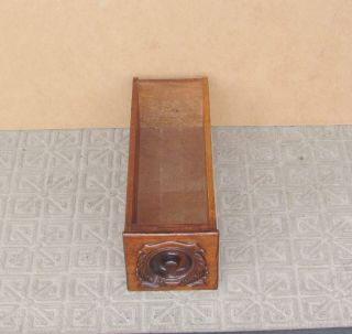 Antique Singer Treadle Sewing Machine Cabinet Drawer photo