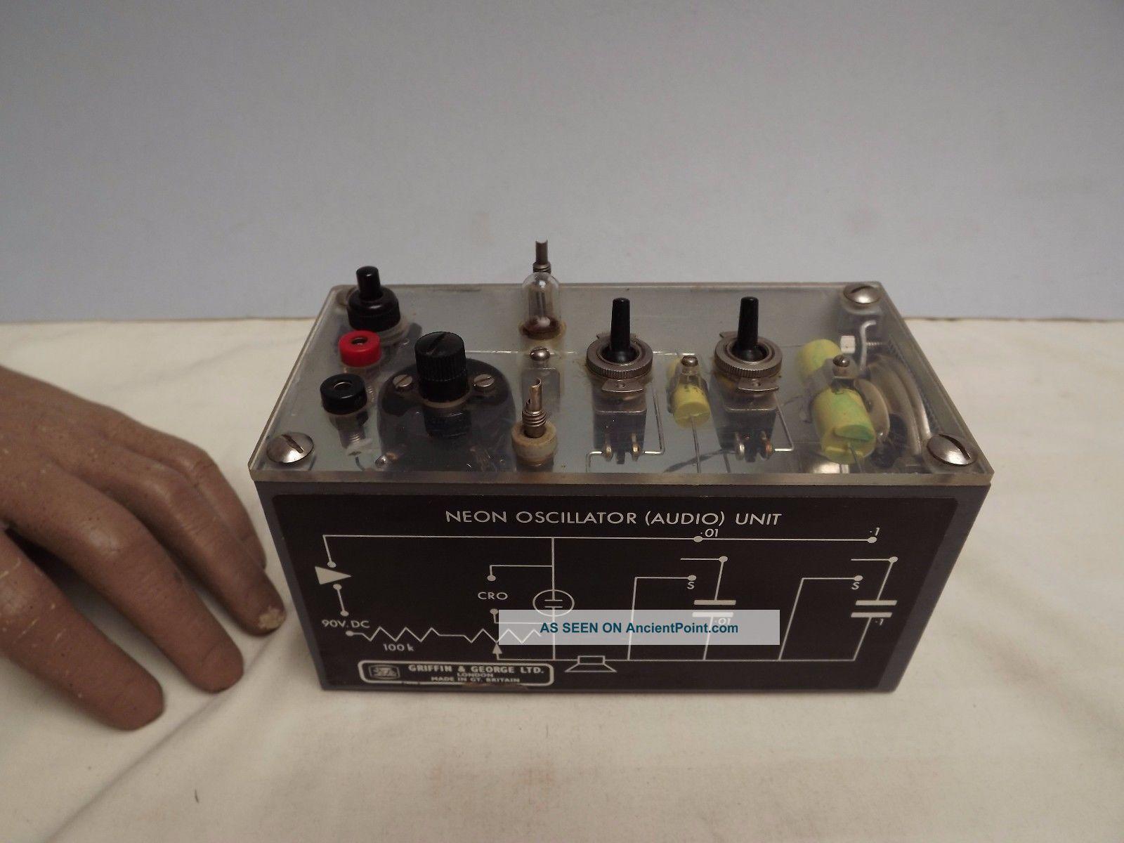 Neon Oscillator Unit ( (audio Oscillator))  Griffin & George (c1960) Other Antique Science Equip photo