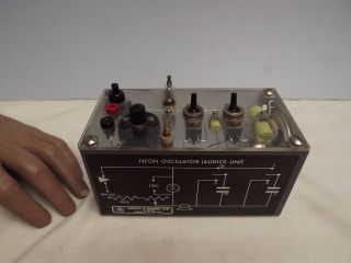 Neon Oscillator Unit ( (audio Oscillator))  Griffin & George (c1960) photo