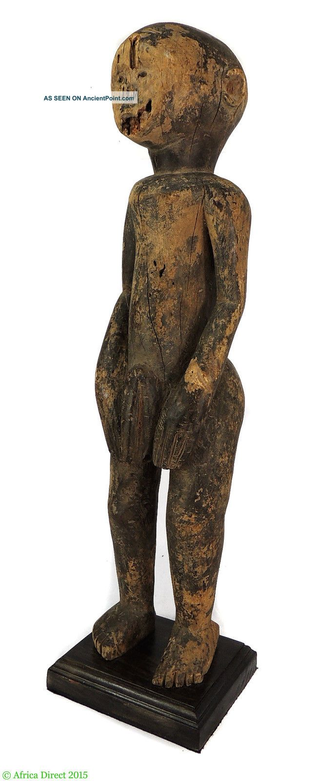 Dinka Male Figure S.  Sudan 28 Inch African Art Was $590 Sculptures & Statues photo