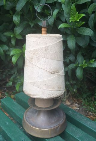 Large Antique Counter - Top Country Store Twine Dispenser Holder Early 1900 ' S photo