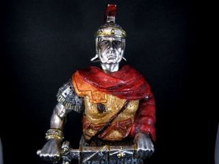Vintage Large 290mm.  Roman Legionary Resin Figurine photo