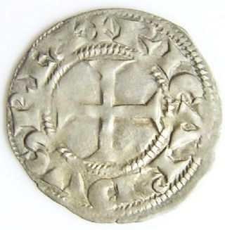 Richard The Lionheart Crusader Period Silver Denier C.  1172 - 1185 A.  D. photo