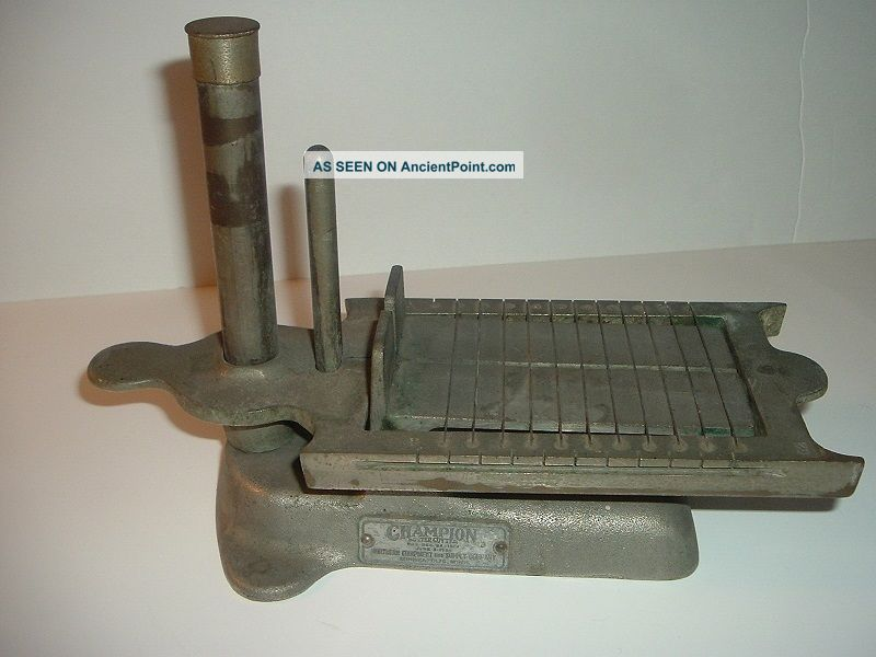 Vintage Heavy Metal Champion Butter Cutter Other Antique Home & Hearth photo