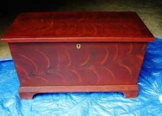 Antique Blanket Chest Paint Size Pennsylvania Blanket Chest photo