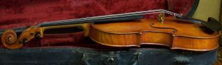 Fine Old French Violin Georges Chanot 1882 photo