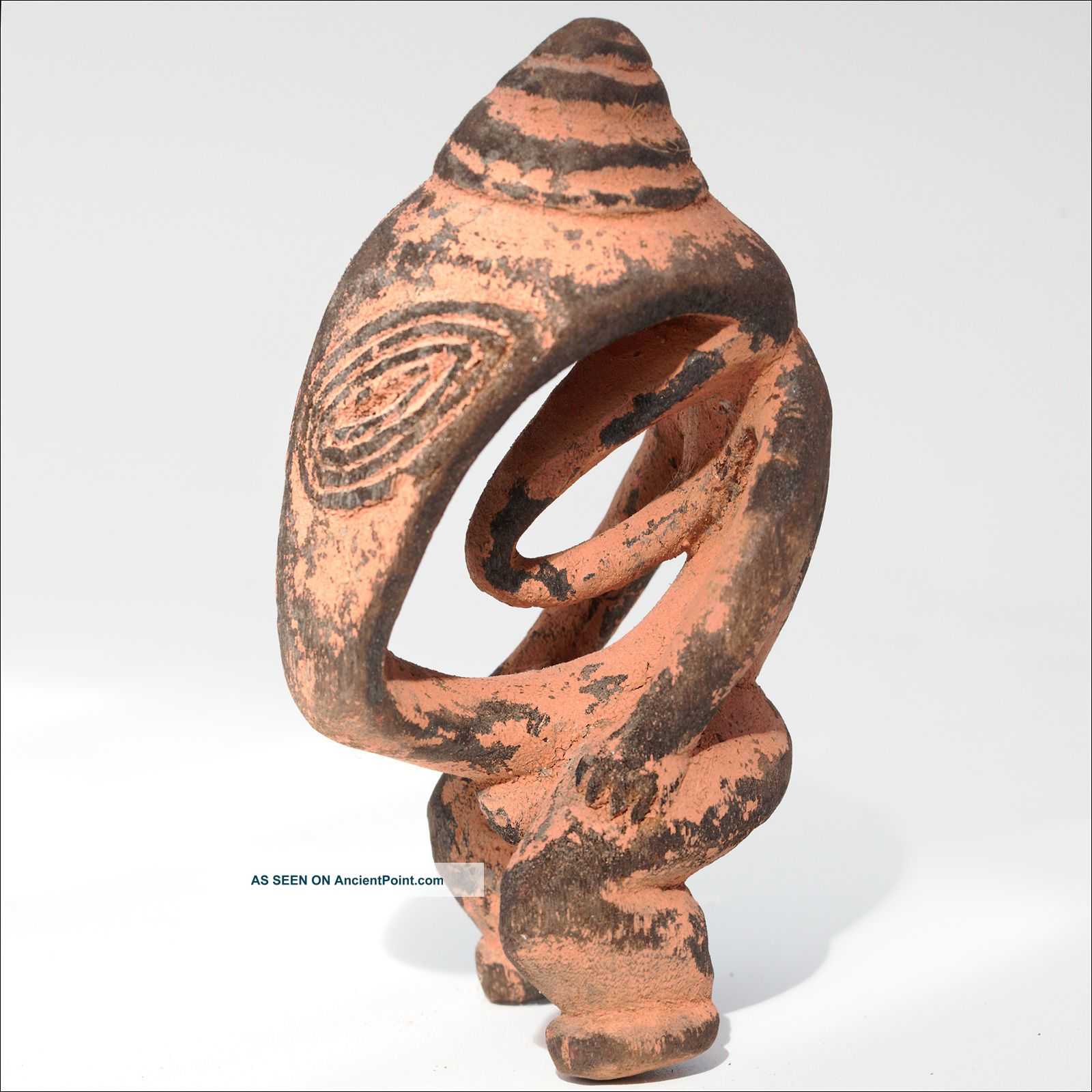 Png Lower Sepik River Power Figure Amulet - Papua Guinea Carving Pacific Islands & Oceania photo
