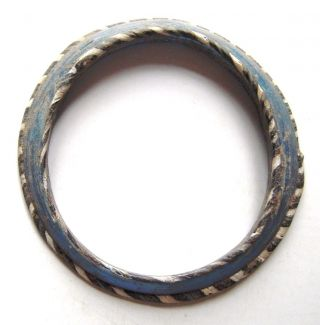 Byzantine Multi - Coloured Glass Bracelet.  Ref.  576. photo