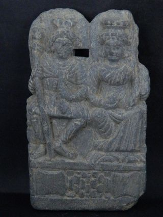Ancient Large Size Stone Punchika Hariti Gandhara/gandharan 200 Ad Ik448 photo