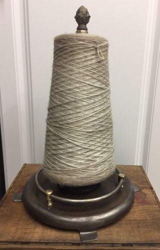 Large Vintage Early 1900 ' S Counter - Top Antique Country Store Twine Dispenser photo