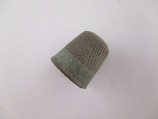 Ancient Thimble,  Kievan Rus 10 - 12 Ad photo