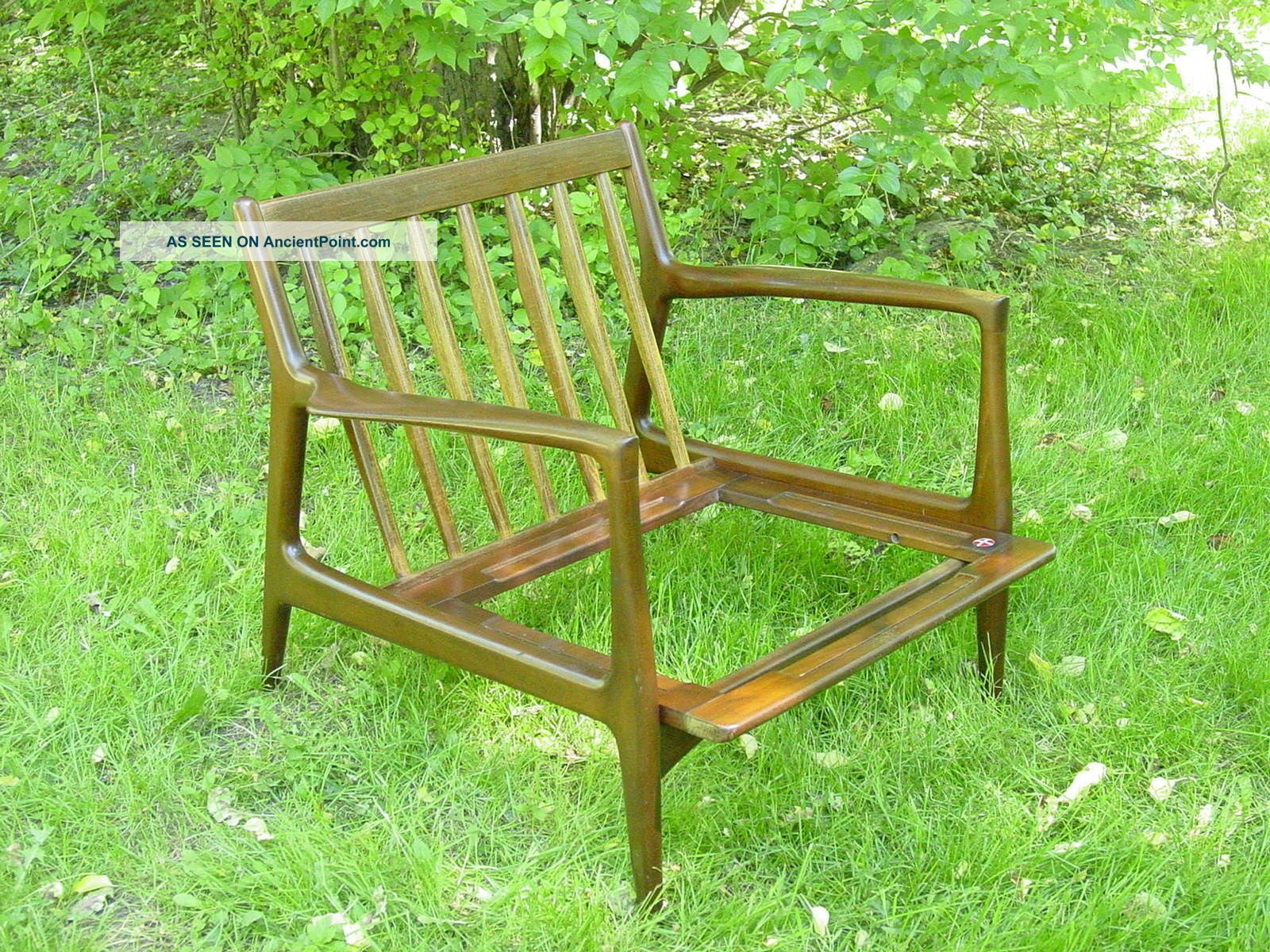 Vintage 1950s Lounge Chair Kofod Larsen Selig Scandanavian Furniture Modern Post-1950 photo