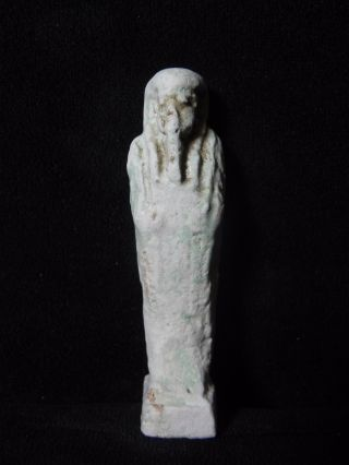Zurqieh - Ancient Egypt.  Ancient Ushabti,  600 - 300 B.  C photo