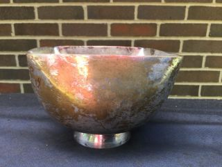 Rare Ward Bennett Design Silverplate Bowl Candy Dish Mid - Century 4 Side photo