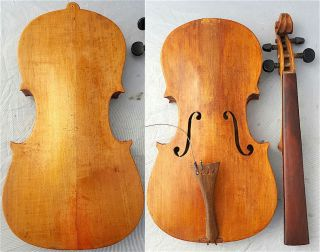 Fine 4/4 Orig.  1925y Antique Josef Bursik Violin For Restaur.  小提琴 СКРИПКА Geige photo
