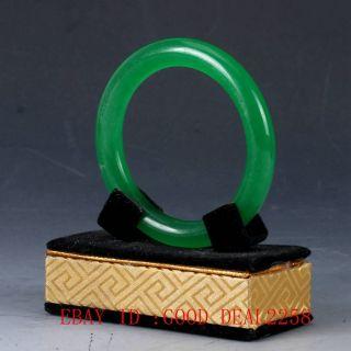 100 Natural Jade Handmade Carved Bracelet photo