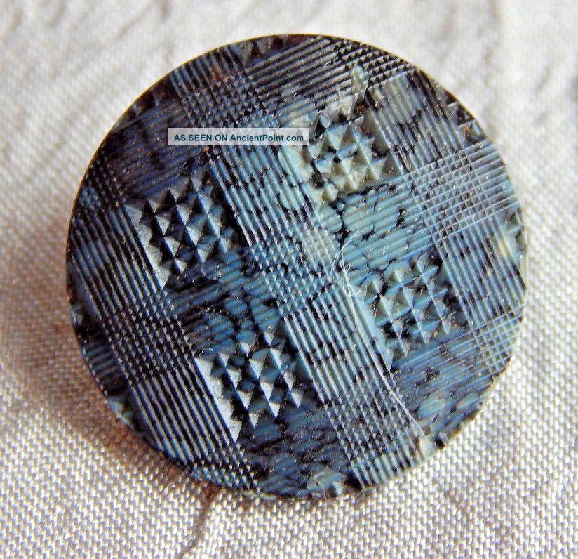 Antique Vintage Glass Button Slag Glass 231a Buttons photo