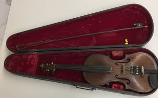 Josef Klotz Mittenwalde Anno Germany 1795 Violin Gsb Case & Barcus - Berry Pickup photo