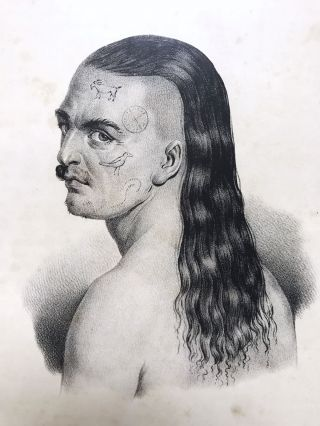 Rare French Engraving Of