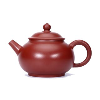 Master Class Handmade Authentic Purple Clay Teapot Chinese Yixing Zisha Teapot photo