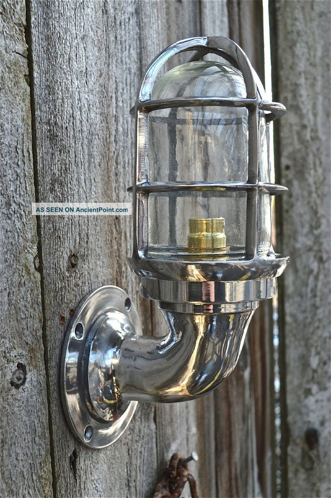 Nautical Light Marine Ship Aluminium Passage Bulkhead Outdoor Light 1 Piece Lamps & Lighting photo
