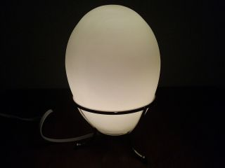 Mid Century Modern Kaoyi Art Glass Lamp photo