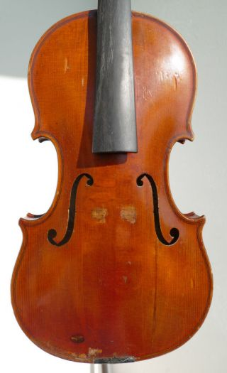Good Czechs Violin By Josef Chramosta 1935,  Oilvarnish photo