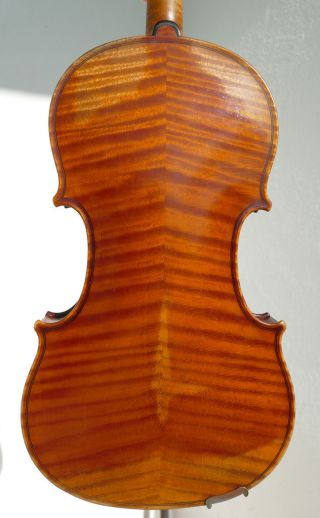 Old P K Stamped Violin,  Made Around 1920 photo