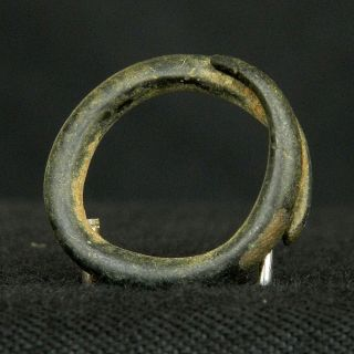 True Copper Ring Adornment - 18 Mm Dia - Saharian Chalcolithic photo