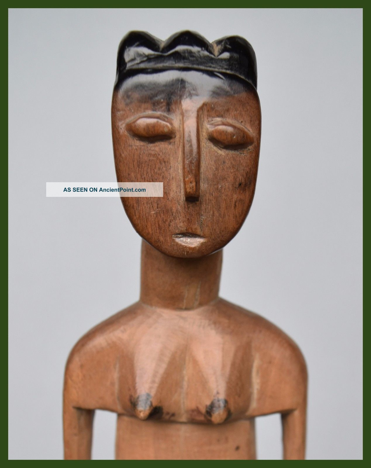 Attractive Female Venavi Doll From Ghana ' S Ewe Tribe Other African Antiques photo