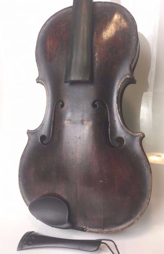 Violin 4/4 Signed Benjamin Banks Salisbury England Master Maker 1790 Antique photo