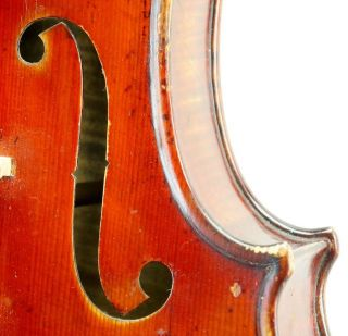Very Interesting And Fine Antique 19th Century Violin - Ready To Play - photo