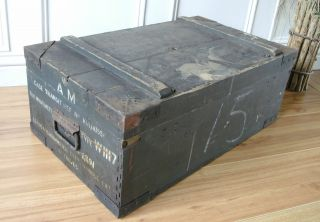 Vintage Pine Box Wavemeter Box photo
