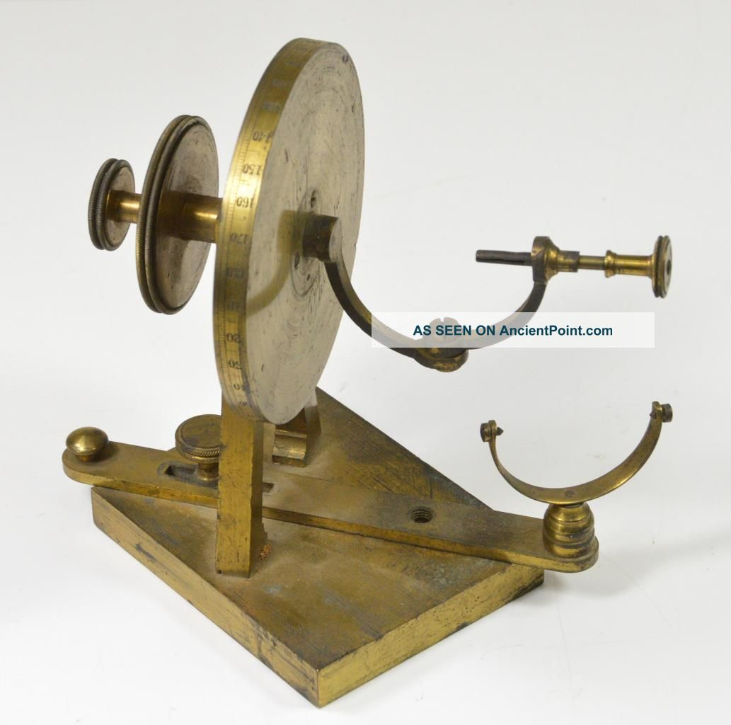 C.  1850 ' S Antique Duffey,  Philadelphia Scientific Mathematical Light Instrument Other Antique Science Equip photo