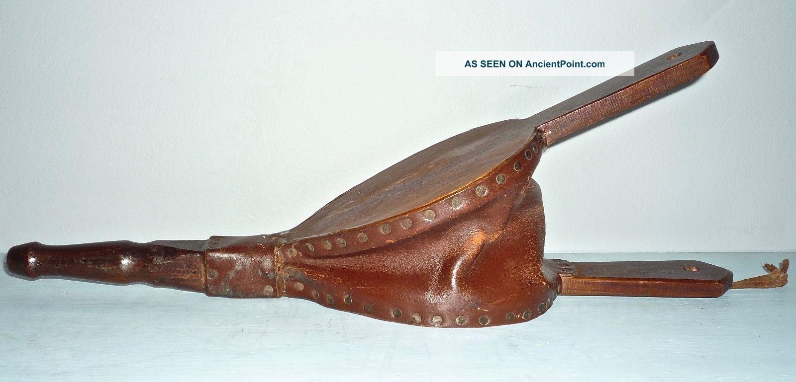 Vintage Wood & Leather 17