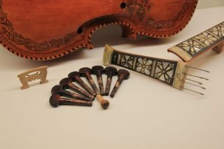 Rare Opportunity Hardanger Fiddle From 1906 - Norway Fiddle,  Hardingfele Violin photo