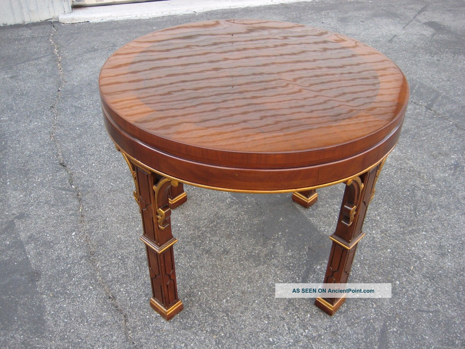 Karges Round Side Table Other Antique Furniture photo