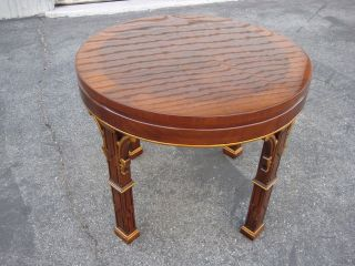 Karges Round Side Table photo