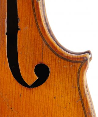 - Cremonese,  Julius Zolch Old 4/4 Master Violin - Geige,  Fiddle 小提琴 photo