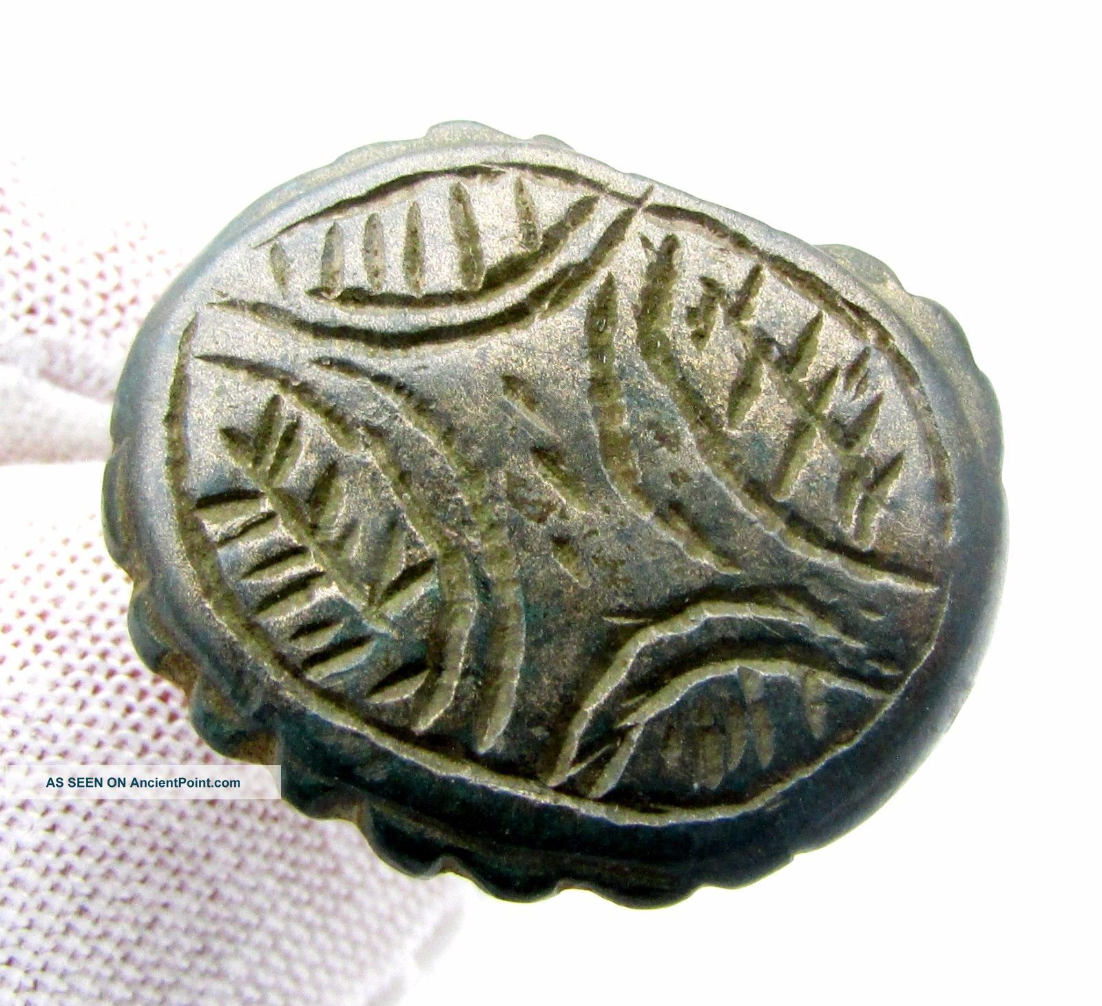 Medieval Bronze Ring W/