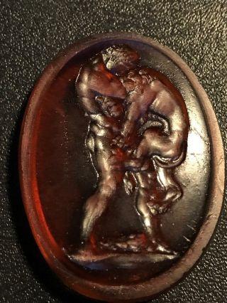 Glass Grand Tour Intaglio Cameo Medici Gem Venetian Stamp James Tassie photo